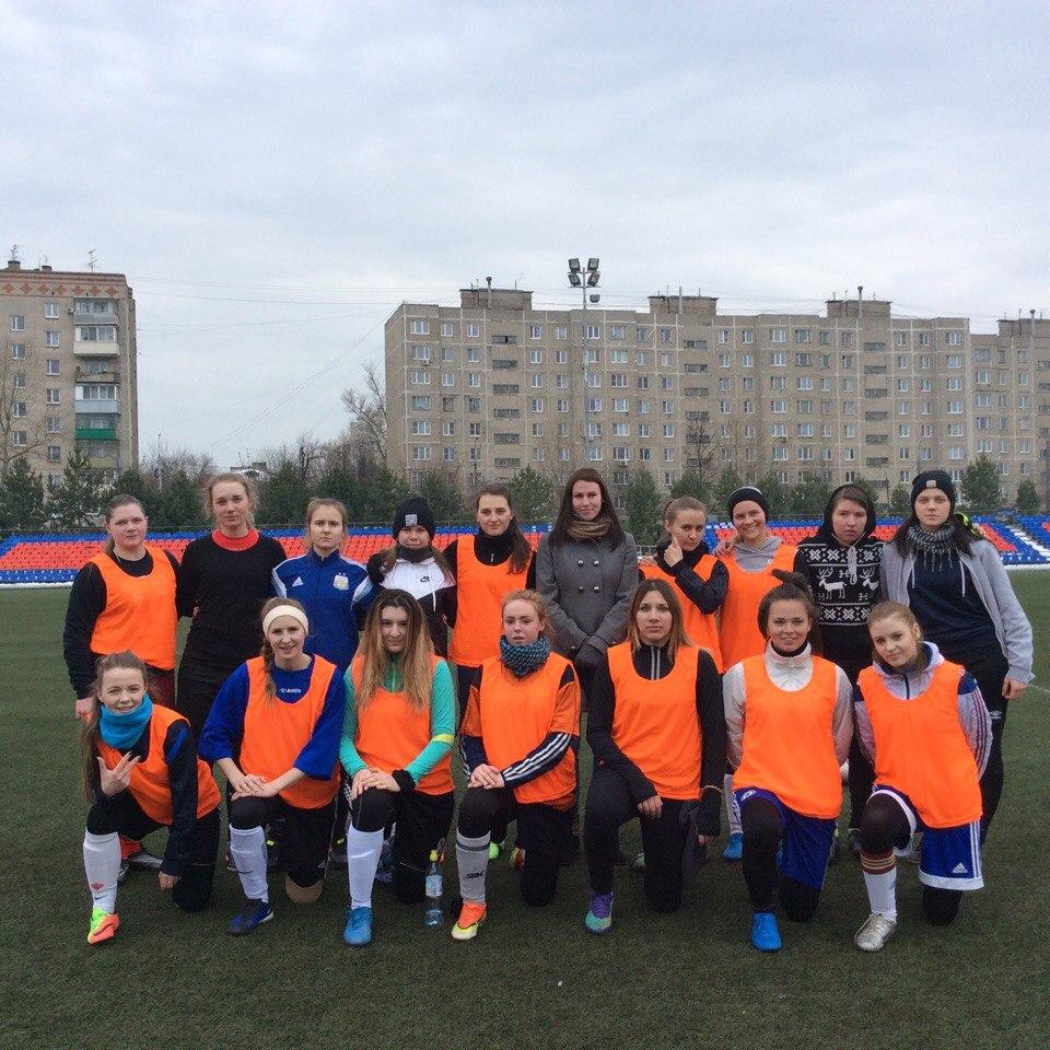 Женская команда «Заречье» стартовала в Первенстве России