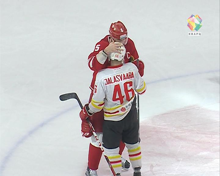 Хоккеисты «Витязя» впервые вистории вышли вплей-офф КХЛ